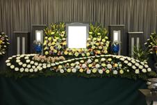 JA結城会館なごみ 祭壇の例