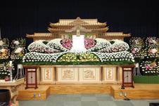 JAホール下館 祭壇の例